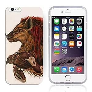 """Animal Art Illustration Pattern HD Durable Hard Plastic Case Cover for iphone 6 Plus(5.5"""")"""