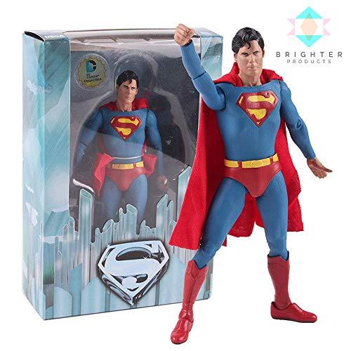Brighter Products DC Comics Superman | Batman | Joker Collectible Model Action Figure (Superman)