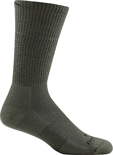 Darn Tough Tactical Boot Cushion Socks ( T4021 ) Unisex (Foliage Green, Large)