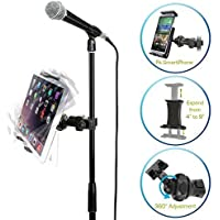 AccessoryBasics EasyAdjust cymbal Microphone Mic Stand...