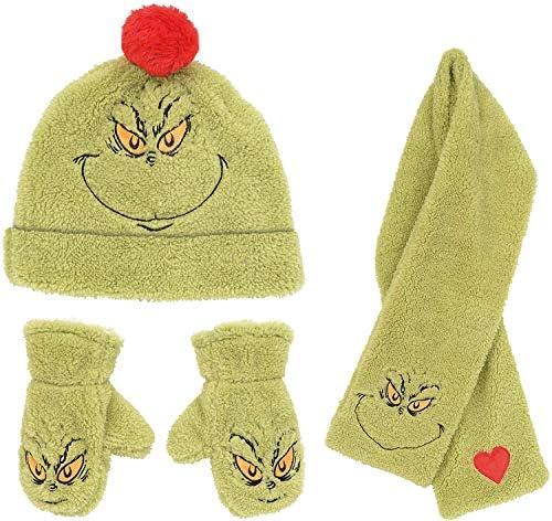 GREEN ROSE Pasamonta/ñas 100/% lana merino para beb/é gorro bufanda org/ánico para ni/ños y ni/ñas calentador de cuello
