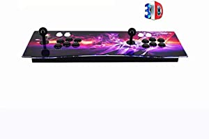 3D Home Arcade Game Console, 3288 Retro Games Pandora's Box Full HD 4 Players, Support HDMI/VGA/USB for PC/Laptop/TV / PS4,