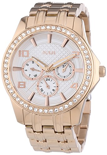best sneakers 7c2d3 cb678 Amazon.com: Guess Women's Watch Ref: W0147L3: Guess: Watches