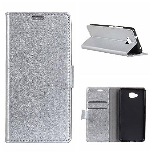 Yoodi Funda BQ Aquaris U2, Carcasa de Cuero Billetera Leather Flip Funda - Wallet Case Cover - Ranura para Tarjetas Cierre...