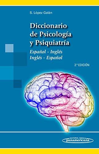 Descargar Libro Diccionario De Psicología Y Psiquiatría. Español-inglés / Inglés-español Santiago López Galán