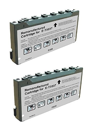 - Compatible Remanufactured 2 Pack T557 T557L T5570 Ink Cartridge for use in Picture-Mate PM500 PM-500 Series Printer.