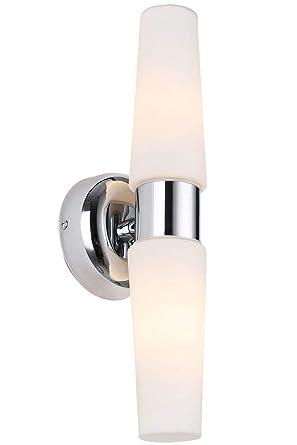 Amazon.com: Trend aplique vanidad lámpara de pared espejo de ...