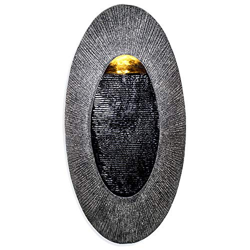 - Oval, Indoor/Outdoor Wall Fountain 23