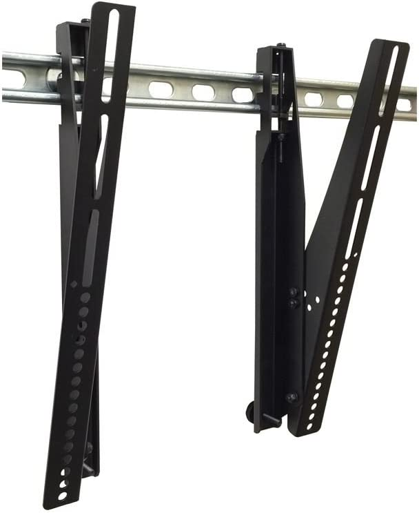Premier UMB-DBT Mounts Unistrut Supported Display Mounting Bracket Tall, Black