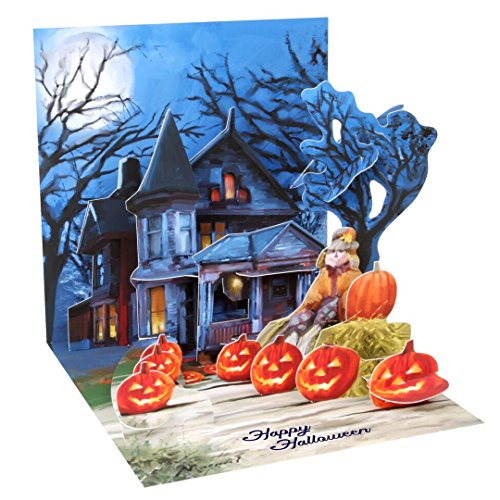 3D Greeting Card from Up With Paper - SPOOKY HALLO-NIGHT - #1276]()