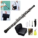 Oboe,C Key Oboe,Instrument Kit with Reed Cleaning