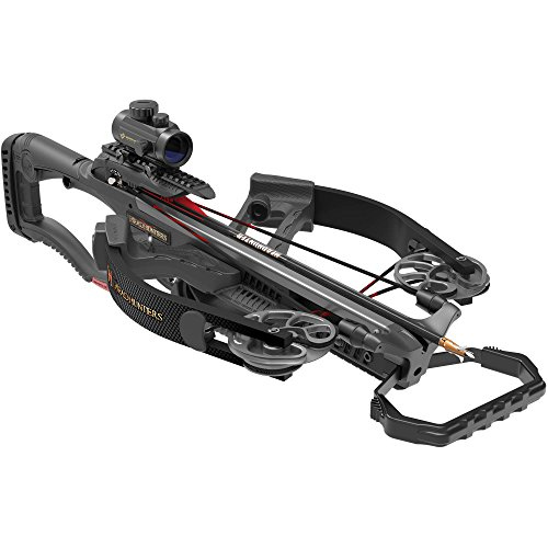 - Barnett Headhunters Reverse Draw Crossbow Ready to Hunt Package 320 FPS