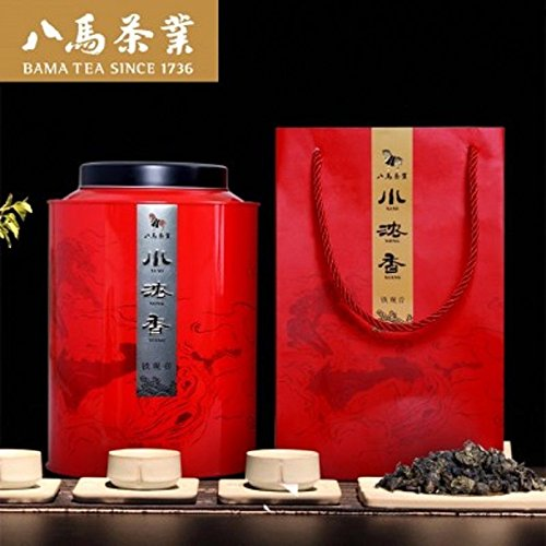 500g Bama tea Anxi Tieguanyin tea Chinese Oolong tea Luzhou Tea八马茶叶 铁观音浓香型安溪铁观音茶 by Yichang Yaxian Food LTD.