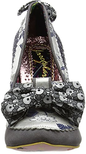 discount best sale amazon cheap price Irregular Choice Women's Soap & Suds Closed-Toe Heels Silver (Silver) free shipping manchester great sale wholesale price cheap online ZpD3eZE