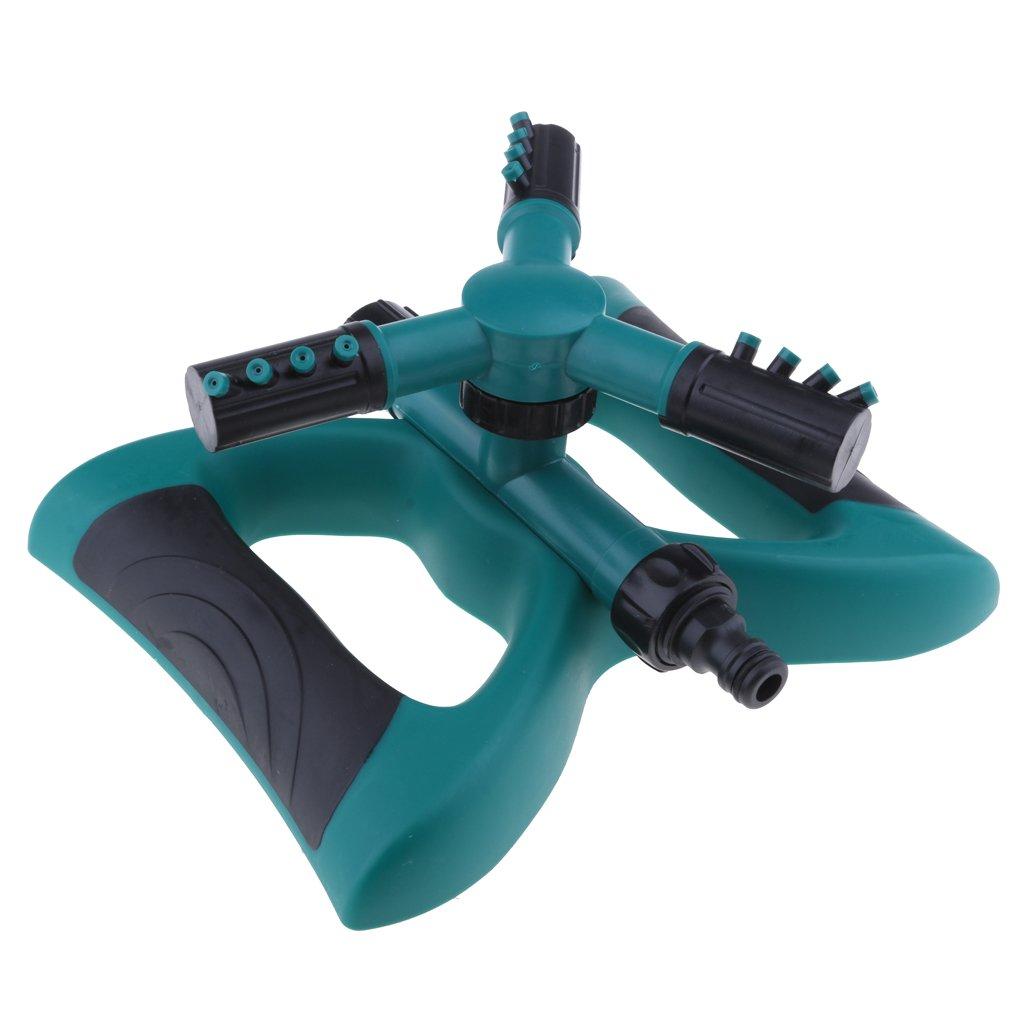 MagiDeal 360° 3-Arm Water Sprayer Lawn Grass Sprinkler Head Yard Watering Tool #2