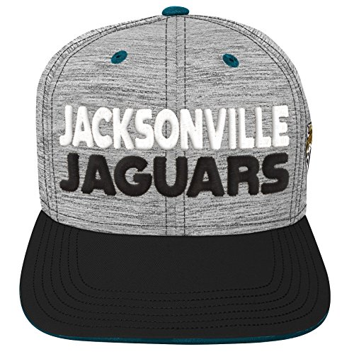 Outerstuff NFL NFL Jacksonville Jaguars Youth Boys Space Dye Snapback Hat Heather Grey, Youth One Size