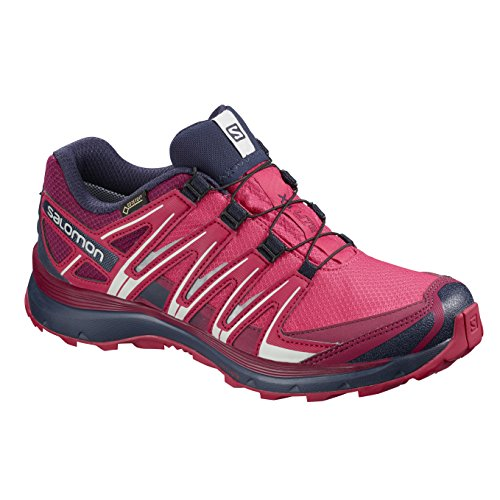 Women's Virtual GTX® Pink Running XA Salomon Evening Shoes Cerise Pink Lite Blue Trail cWtOR6