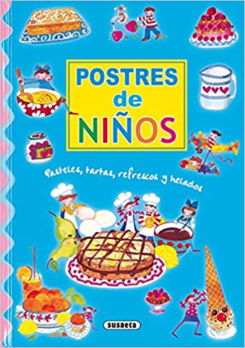 libro con recetas de postres para niños