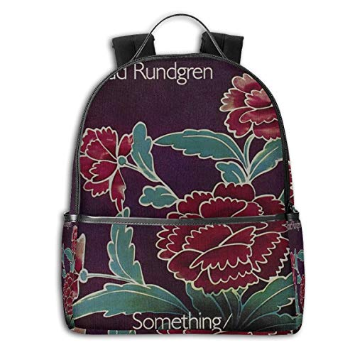 JacobKThompson Todd Rundgren Ultra-Thin and Durable Laptop Backpack Travel Backpack Male and Female Students Backpack