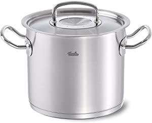 Fissler Original Professional Collection Medium Innovative Stainless Steel Stew Cooking Pot Cookware, 4.1-Quart