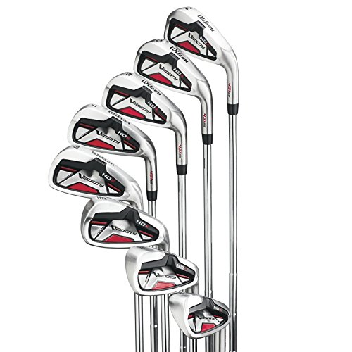 Wilson Velocity HDX Men's Right Handed 8 Piece Steel Iron 4-PW+SW Golf Club Set