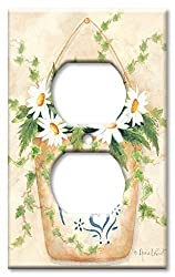 Art Plates - Bath Switch Plate - Outlet Cover