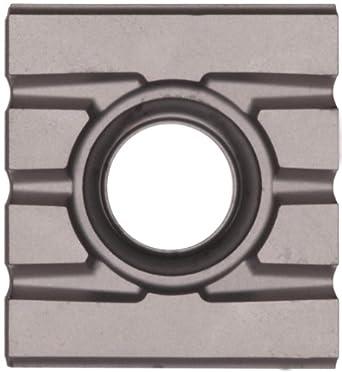 "Sandvik Coromant T-MAX SCREW CLAMP  Carbide Milling Insert, 215 Style, Rectangular, SM30 Grade, Uncoated, 21531211111,0.205"" Thick, 0"" Corner Radius (Pack of 10)"