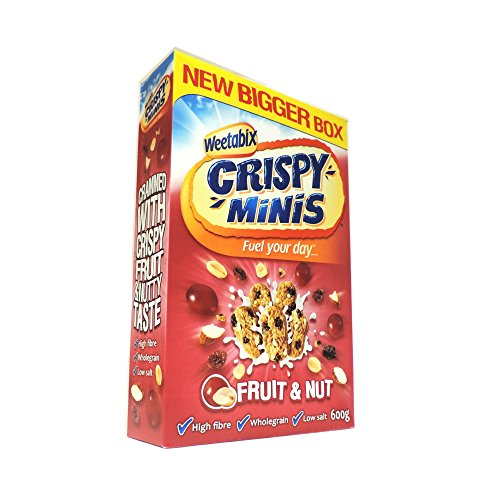 Weetabix - Crispy Minis - Fruit & Nut - 600g (Case of 10) by Weetabix (Image #1)