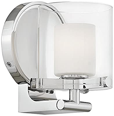 Hinkley 5490CM-LL Rixon Wall Sconce, 1-Light, 4.5 Watts LED, Chrome