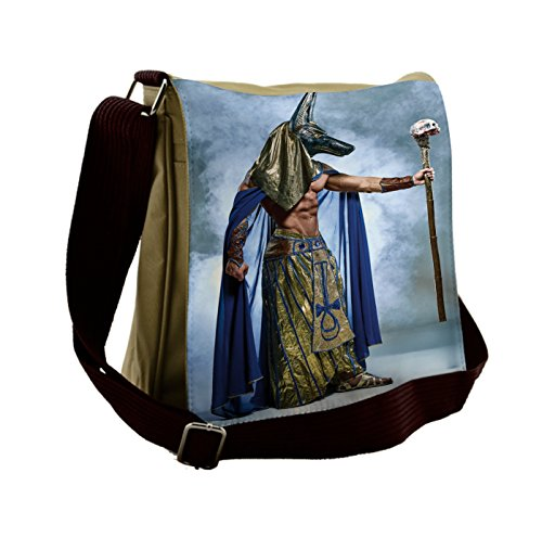 Lunarable Egyptian Messenger Bag, Ancient Pharaoh