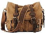 Brown Vintage Military Messenger Bag – Larger Version Review