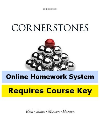 CengageNOW (with Cengage Learning Write Experience 2.0 Powered by MyAccess) for Rich/Jones/Mowen/Hansen's Cornerstones of Financial Accounting, 3rd Edition