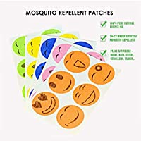 Volwco 100/% Natural Mosquito Repellent Bracelets and Mosquito Repellent Patches Stickers Pest Control for Babies Kids Adults Protection Insects up to 240 Hours Waterproof DEET-Free Mosquito Bands