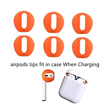 *NEW* Earbud Replacement Foam Covers Orange iPhone