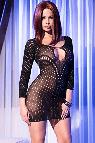 Chilirose - Vestido - para mujer negro