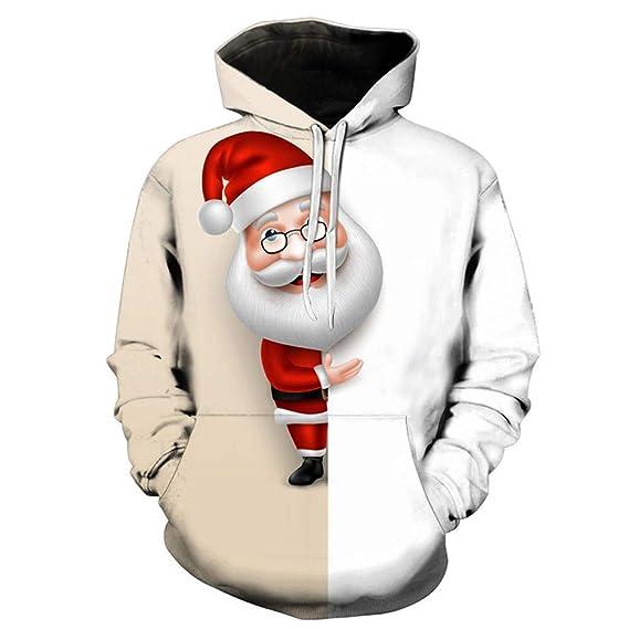 bf68002dd944a TWBB Noël Costume Manteau à Capuche de Tenue Animal Costume Vetements Noël  d impression Costume