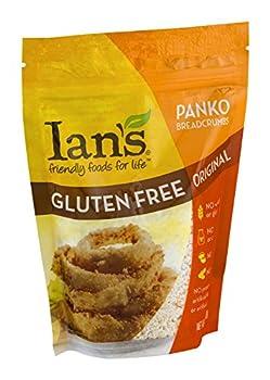 Ian's Bread Crumb, Panko, Original, Gluten-Free 7 oz. (Pack of 8)