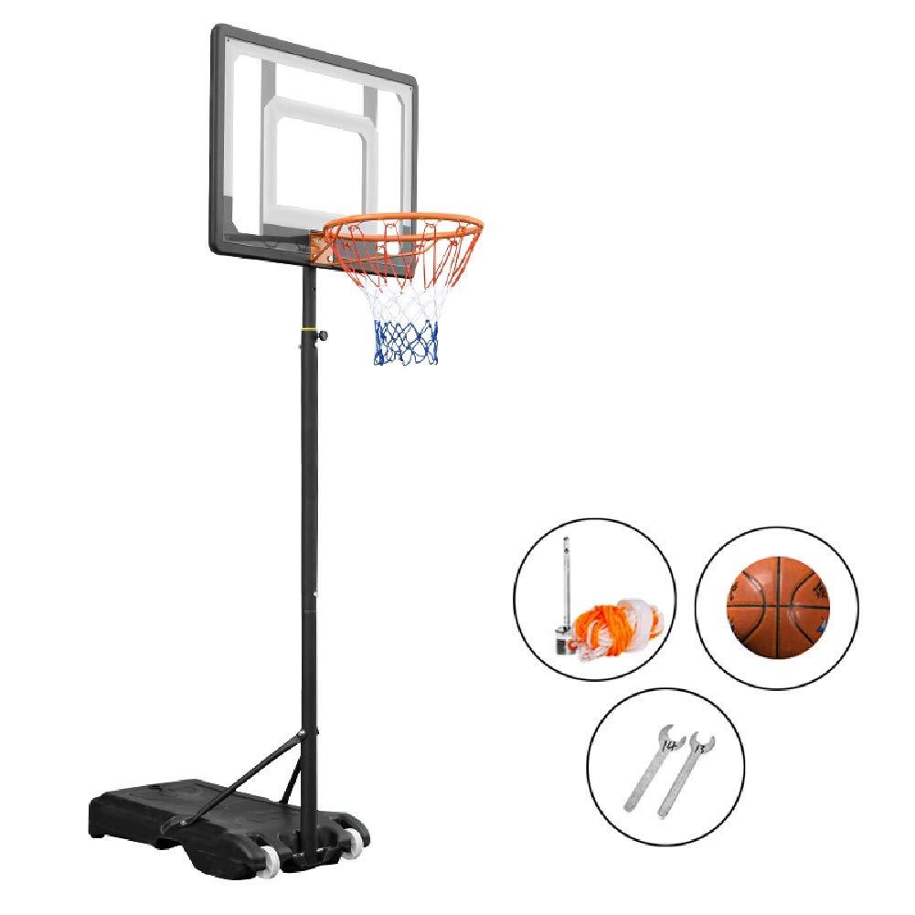 YXX-バスケットゴール 調節可能な高さのバスケットボールフープシステムボール、幼児用のバスケットボールスタンド男の子女の子女の子子供屋内屋外おもちゃ (Size : Set of 4)  Set of 4