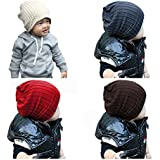 Qandsweet Baby Boy's Hat Cool Knit Beanie Toddlers Cap