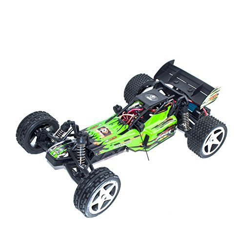 ALEKO RCC66959GREEN 2.4G Brushed Electric Powered Off-Road Buggy (1:12 Scale) (Off Road Powered Buggy)