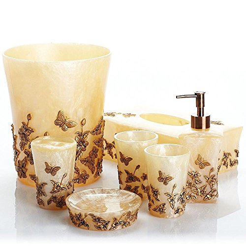YanCui@ Home Decor,Bath Ideas,Home Gift Seven creative continental nobles wind resin Butterfly dance by YanCui Manufacturer