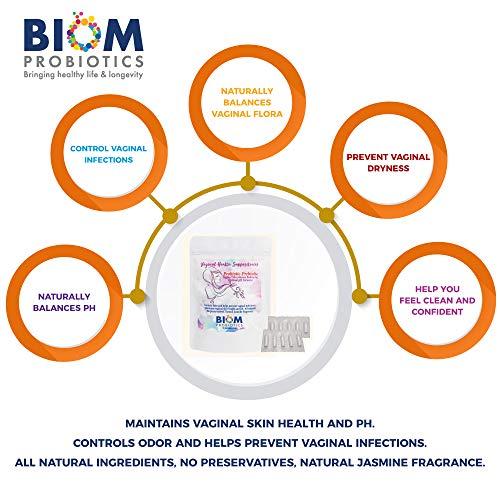 Biom Vaginal Probiotic Suppository