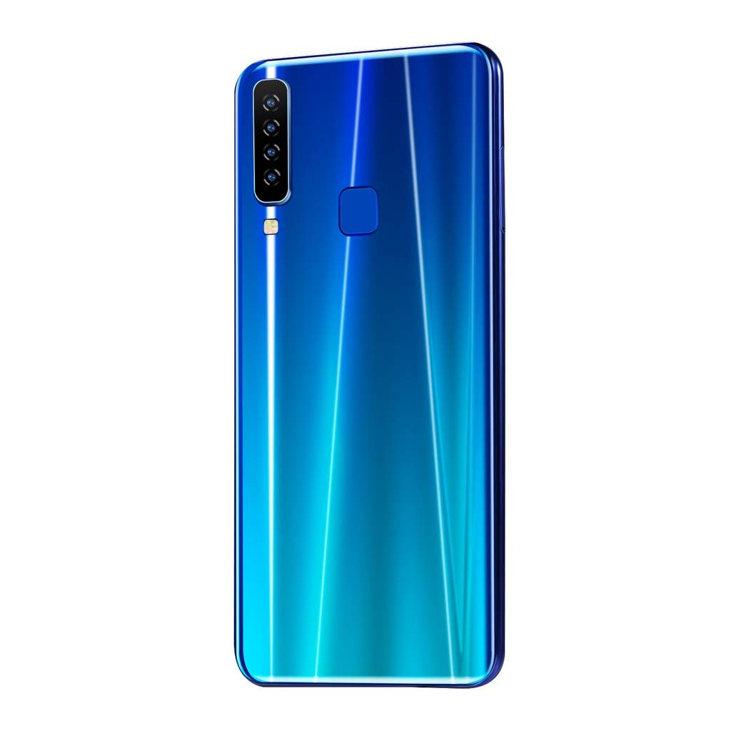 Weite Eight Cores 6.1'' Full Screen 3G Unlocked Smartphone with Finger Print Sensor, Supports Face Recognition/Android 8.1 IPS/16GB/Four HD Camera/Dual SIM Card/3800Mah Lithium-ion Battery (Blue) by Weite (Image #4)