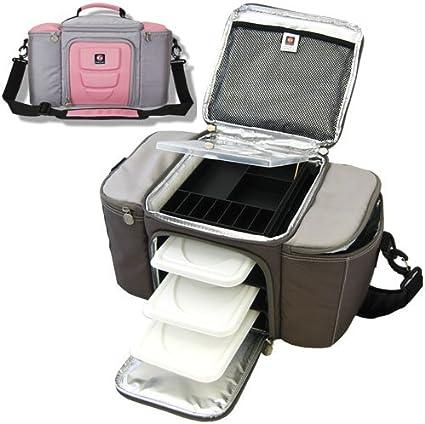 6 PACK FITNESS 6 Pack - Bolsa, tamaño 21 x 41 x 23 cm, Color Grau ...