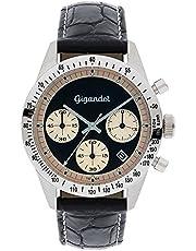Gigandet G5-004 - Reloj para Hombres, Correa de Cuero Color Negro