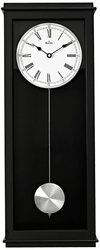Vision Contemporary Wall Clock With Triple Chime Movement