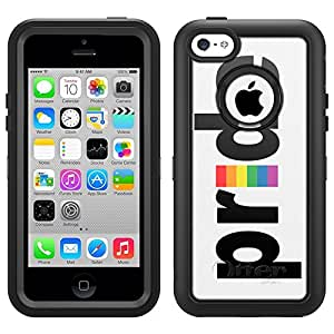 Skin Decal for Otterbox Defender iPhone 5C Case - Pride