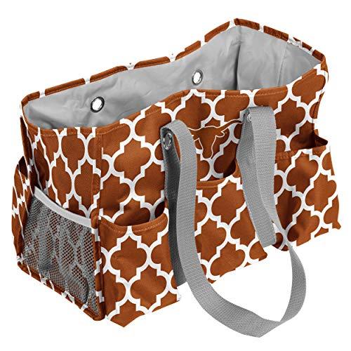 (Logo Brands Texas Longhorns Patterned Multi-Pocketed Junior Caddy)