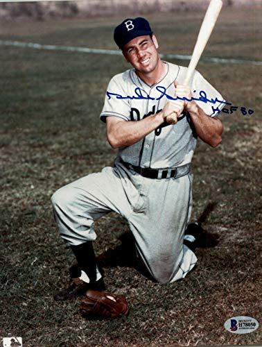 Signed Duke Snider Photograph - 8x10 Beckett - Beckett Authentication - Autographed MLB Photos ()