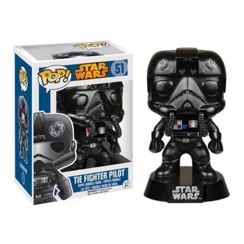 Star Wars POP! Vinyl Bobble-Head Figure Tie Fighter Pilot 9 cm Funko Mini figures